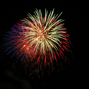 2014 Southgate Mall Fireworks Show III by Gregg Landry - Public Holidays July 4th ( liberty, fireworks, celebration, independence day, usa,  )