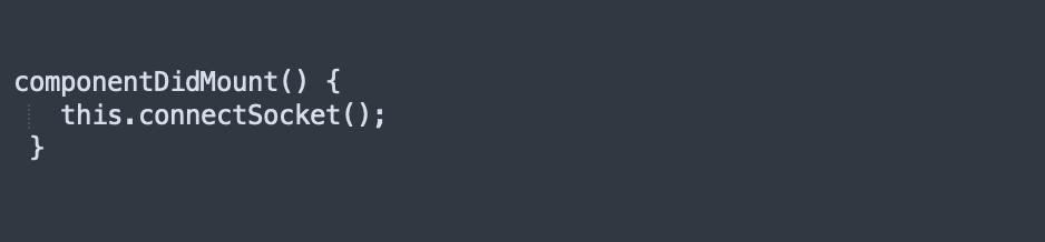 componentDidMount Method