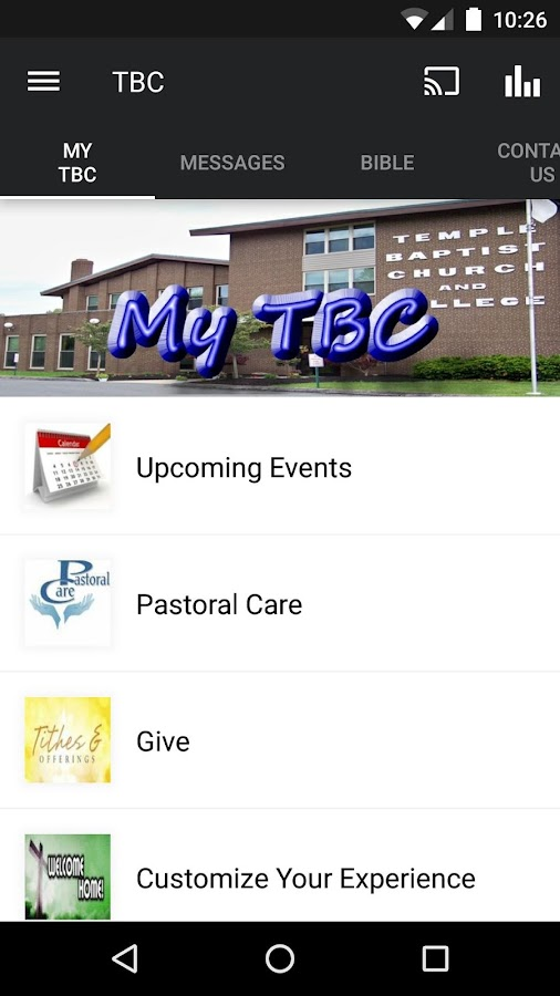 Temple Baptist Church - Ohio- screenshot