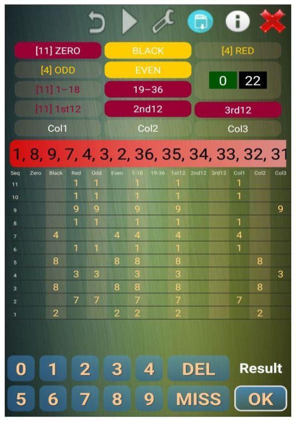 free online roulette analyzer