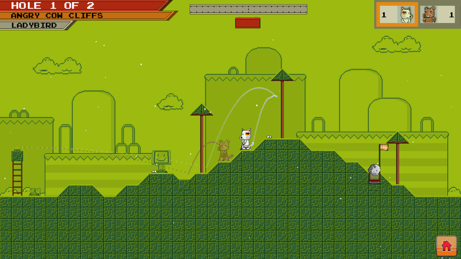 DOG GONE GOLFING- screenshot