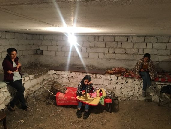 Life in the bunkers of Stepanakert, Nagorno-Karabakh's Capital Photo credit: EVN Report, Roubina Margossian.