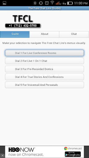 The Free Chat Line Guide