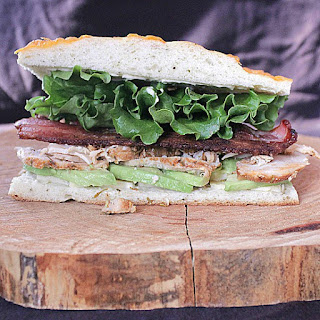 Roast Turkey Avocado Bacon on Focaccia Recipe
