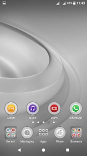 Swirls Gray XP Theme - náhled