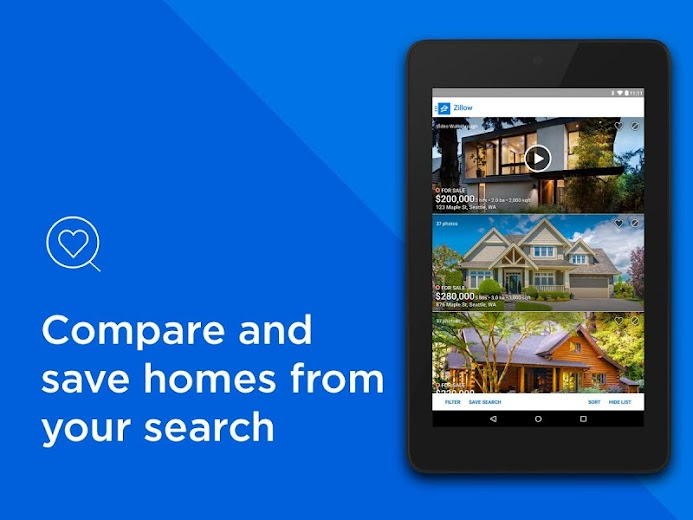 Screenshot 10 for Zillow's Android app'