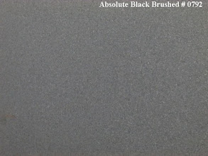 Photo: Absolute Black Brushed # 0792