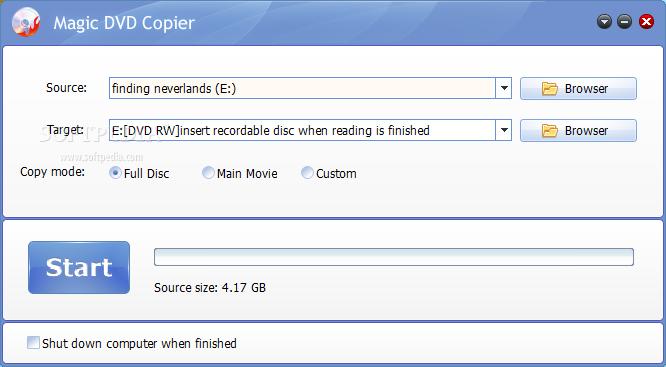 Download Magic DVD Copier 10.0.1