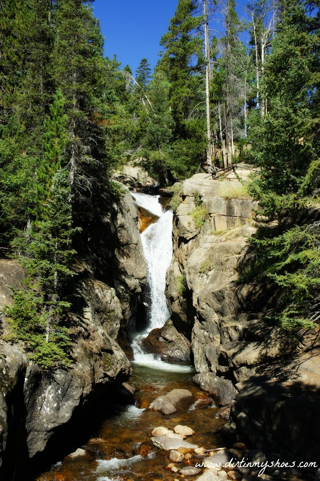 Chasm Falls || Rocky Mountain National Park || Dirt In My Shoes