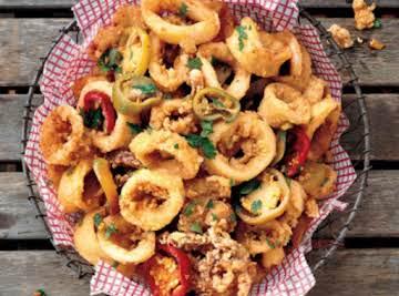 Spicy and Greasy Rhode Island Calamari