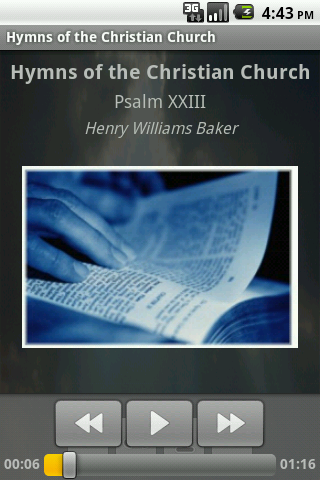 Hymns of the Christian Church - screenshot