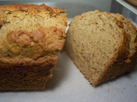 No Eggs, No Milk, No problem Banana Bread Recipe