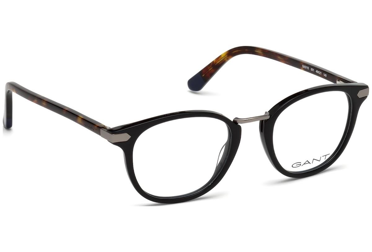 Buy Gant GA3115 C49 001 (shiny black / ) Frames | opti.fashion