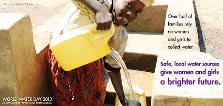 Photo: Almost a billion people don't have access to clean drinking water. With your support, we can change that! We're gearing up for World Water Day next week, but in the meantime, take a look at these photos and learn about why clean water is so important. http://ow.ly/iVvYY