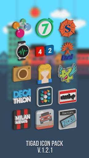 Tigad Pro Icon Pack  screenshots 4