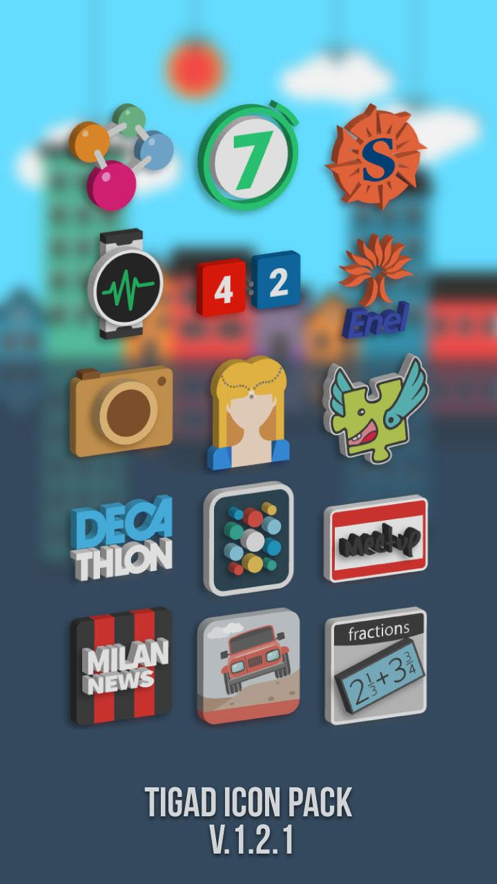 Tigad Pro Icon Pack Screenshot 3