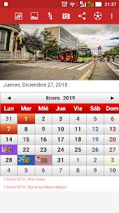 Colombia Calendario 2019