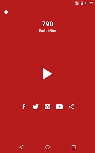 Radio Mitre 790 AM Android App Screenshot
