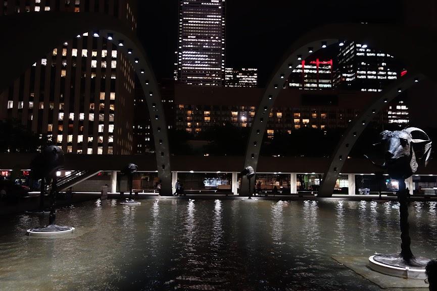 Night view of Toronto (2013)