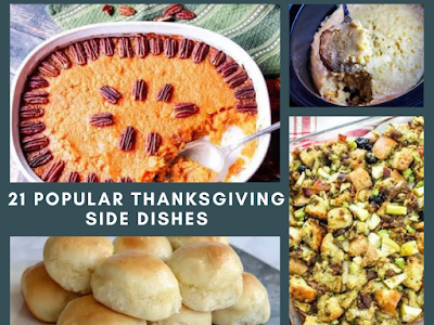 21 Popular Thanksgiving Side Dishes