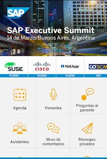 SAP Executive Summit 2017 - náhled