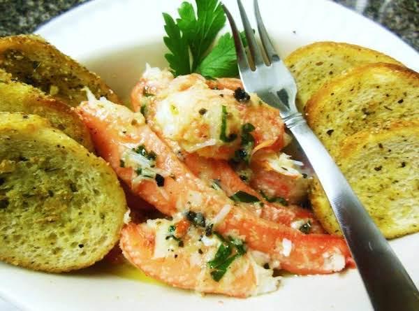 Truffle Butter Garlic Crab Legs Recipe Just A Pinch Recipes