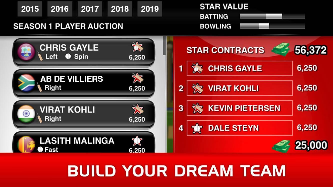 Stick Cricket Premier League screenshot #2