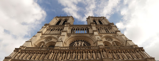 Notre-Dame de Paris cathedral, West Facade, Towers and King gallery