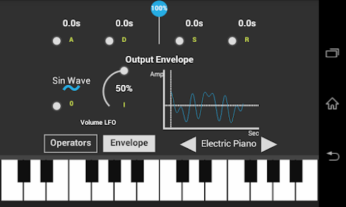 SonaFM Music Synthesizer screenshot 1