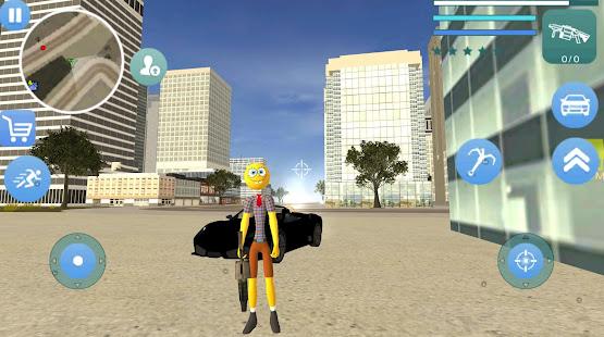 Download Stickman Sponge Rope Hero Gangstar Crime For PC Windows and Mac apk screenshot 2