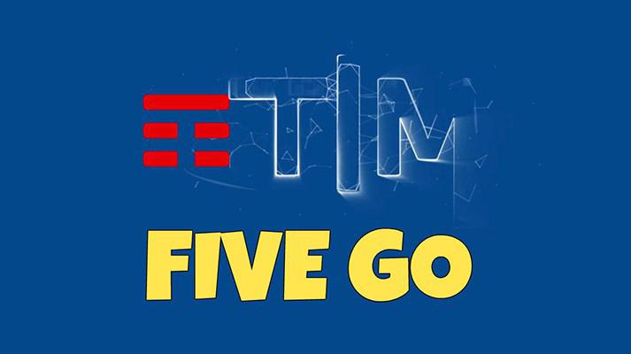 TIM Five GO +5: 1000 minuti e 10 GB a 7€ ogni 4 settimane