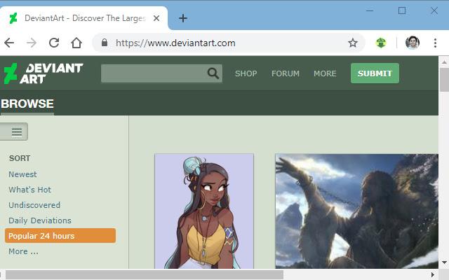 DeviantArt downloader