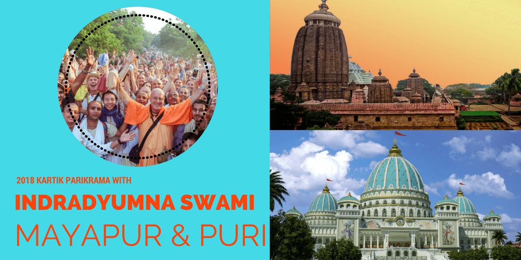 Indradyumna Swami Parikrama 2018