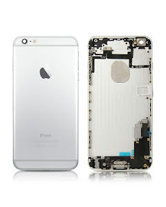 iPhone 6 Plus -Back Housing with small parts Original Pulled Silver