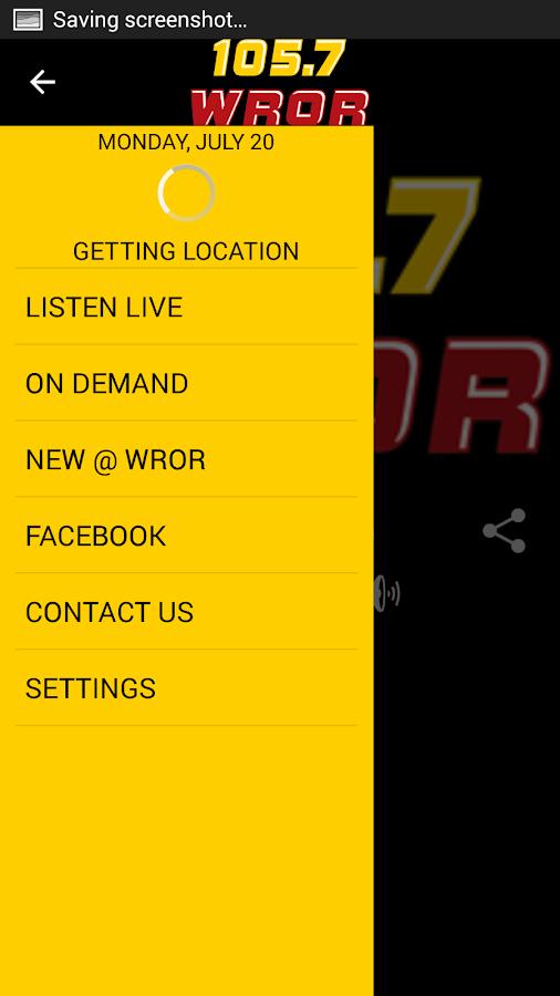105.7 WROR- screenshot