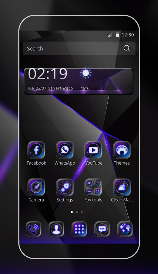 Cool Black Theme APK Cracked Free Download | Cracked Android