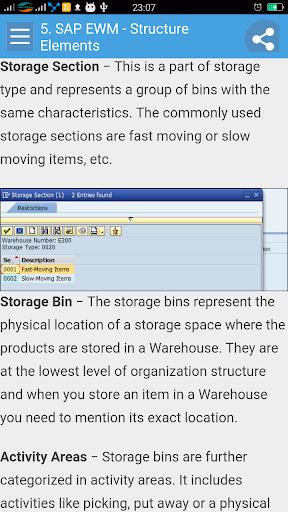 Learn SAP EWM 1.1 screenshots 2