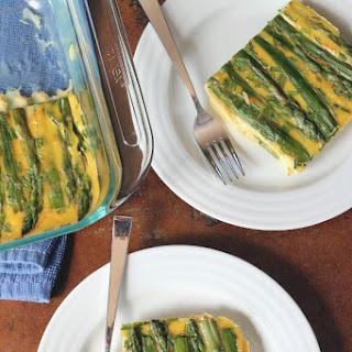 Savory Asparagus Custard
