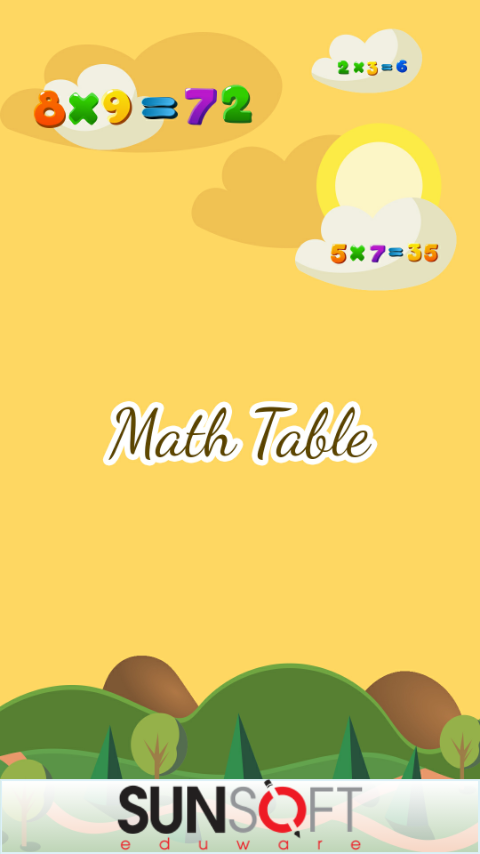 Math Table- screenshot