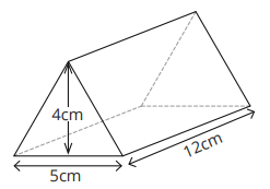 Calculating the volume of a prism
