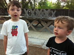 Photo: Clark and Finn Moonlit Marshmallows