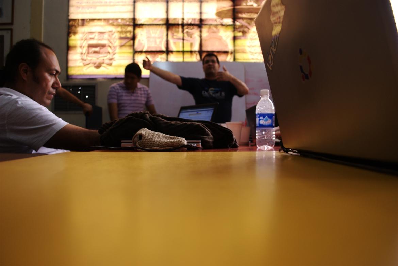 Photo: Día 3 - Mesa de plataforma