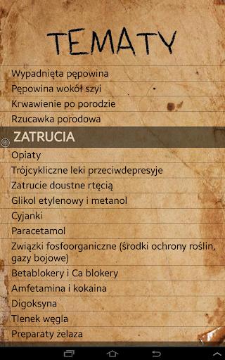 Ratownictwo medyczne algorytmy  screenshots 9