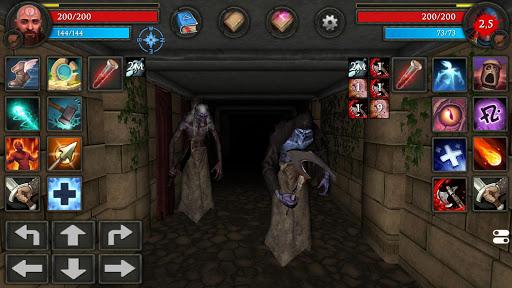 Moonshades: a dungeon crawler RPG game modavailable screenshots 16