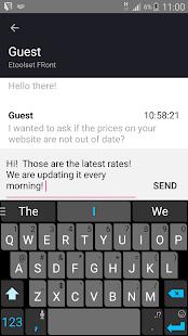 Etoolset Chat - náhled