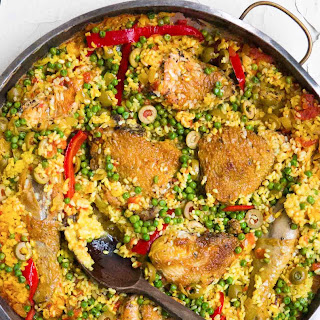 Spanish Chicken with rice