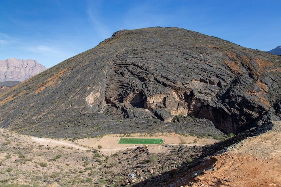 Bilad Sayt Football Field, Oman, Wadi Bani Awf