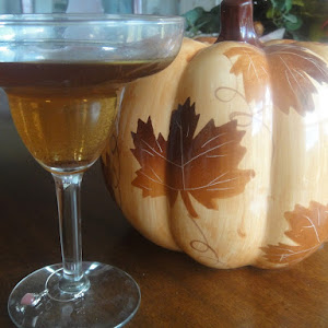 CARAMEL APPLE PIE Martini * VODKA * Cider * Fall cocktail *