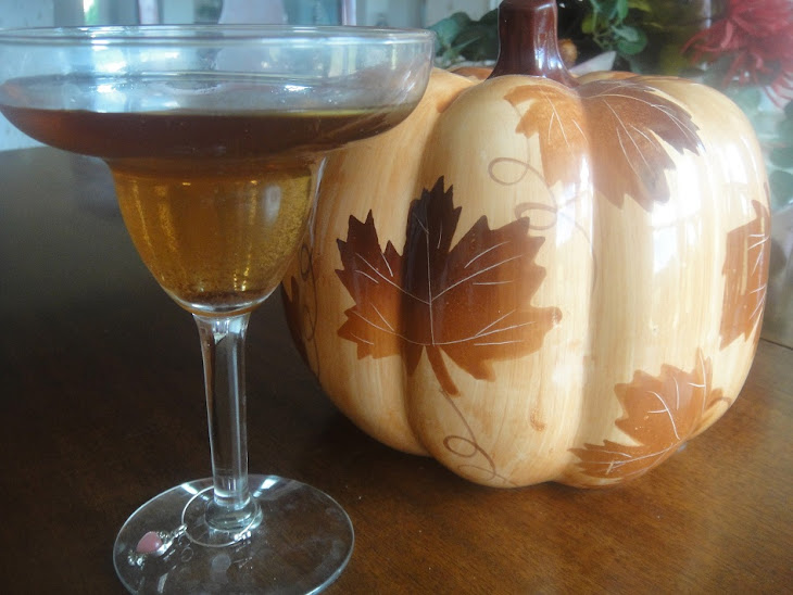 CARAMEL APPLE PIE Martini * VODKA * Cider * Fall Cocktail * Recipe