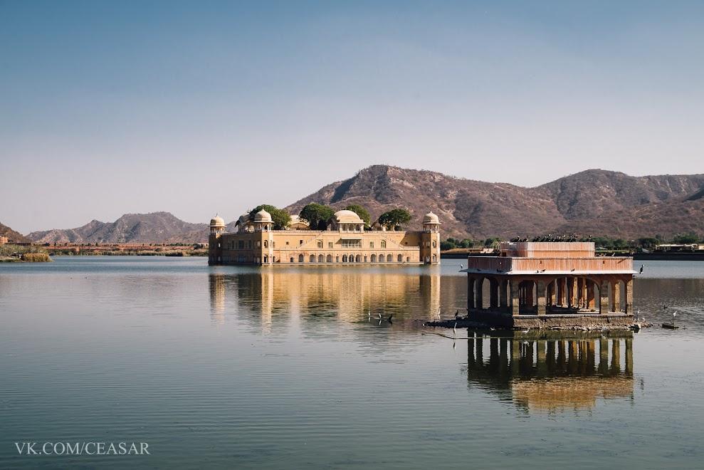 """""""Джал-Махал"""" или """"Плавающий дворец"""", Джайпур"""